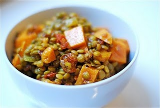... ! Nicole's Awesome Sweet Potato and Lentil Stew | The Green Life